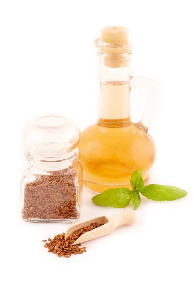 Ľanový olej so semienkami