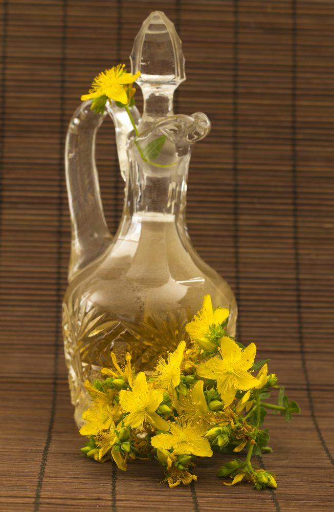 Ľubovníkový olej fľaška