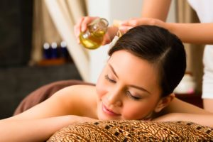 ľubovníkový olej - masáž