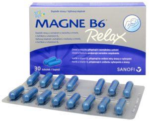 Magne B6 ampulky a dávkovanie
