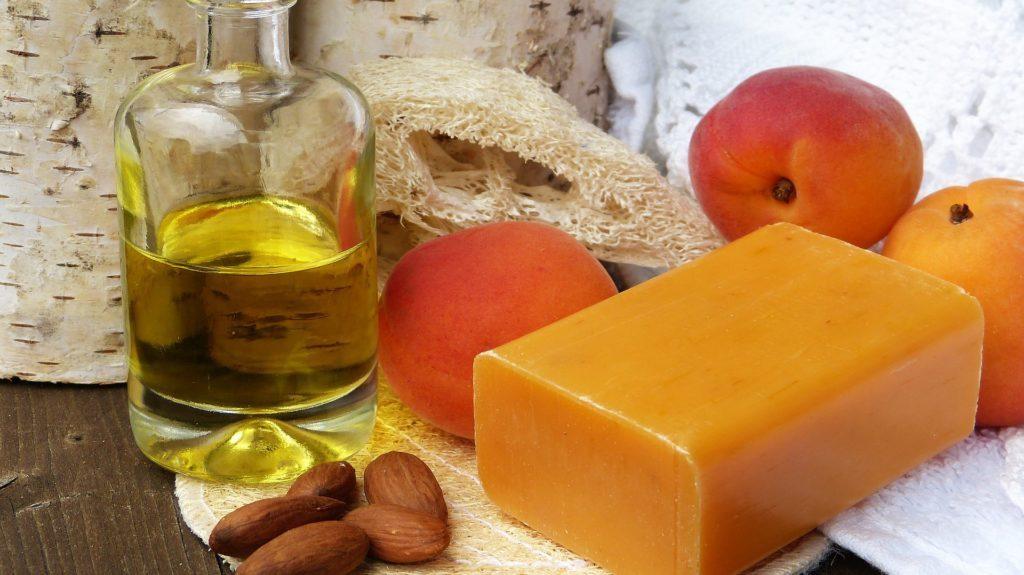 Marhuľový olej a mydlo