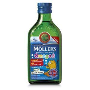 Möller`s rybí olej z tresčej pečene z Nórska