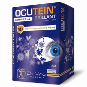 Ocutein Brillant 60 cps + očné kvapky OCUTEIN Sensitive