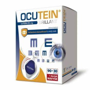 Ocutein Brillant Lutein 25 mg 90 + 30 tbl