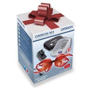 Omron M3 + adaptér - darčekové balenie