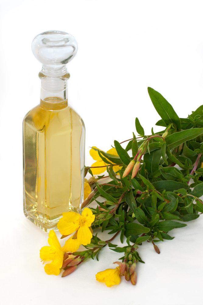 Pupalkový olej vo fľaške