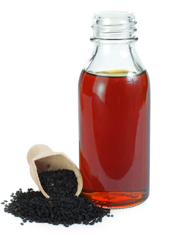 Rascový olej z čiernej rasce