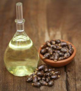 Ricínový olej s fazuľami
