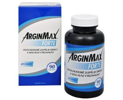 ArginMax Forte pre mužov 90 kapsúl recenzia