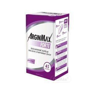 ArginMax Forte pre ženy 45 kapsúl recenzia