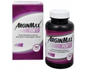 ArginMax Forte pre ženy 90 kapsúl recenzia