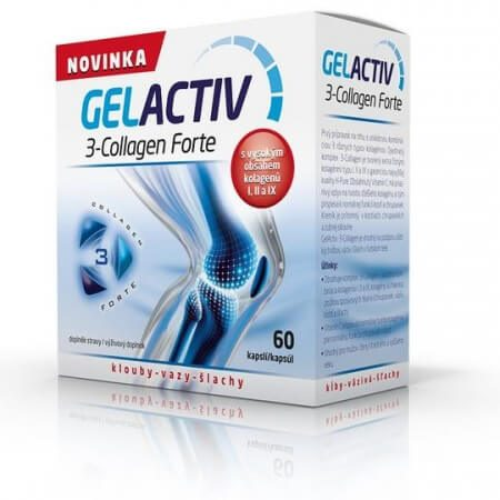 GELACTIV 3-Collagen Forte 60 kapsúl