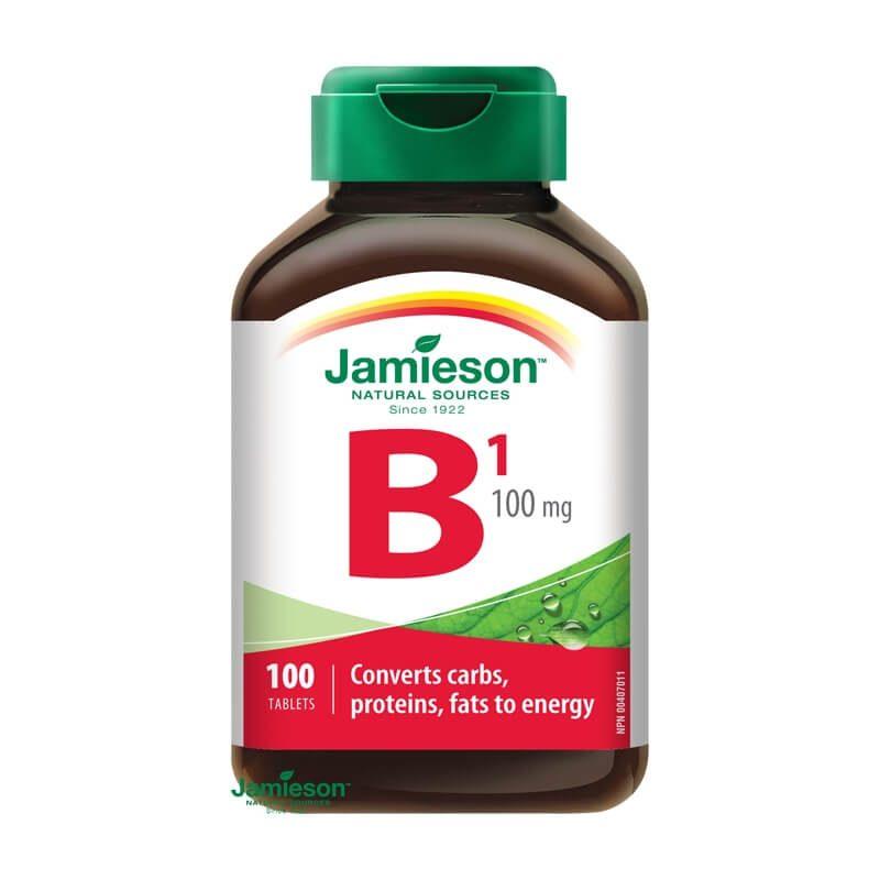 Jamieson Vitamín B1 (tiamín) 100 mg 100 tbl