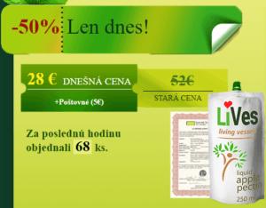 Lives Pectin cena 2