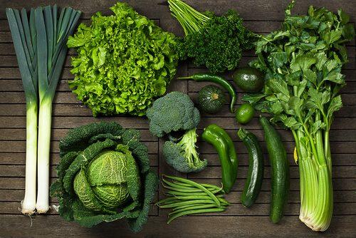 Luteín v potravinách - tmavá listová zelenina