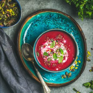 Zdravé recepty na chudutie polievka z červenej repy