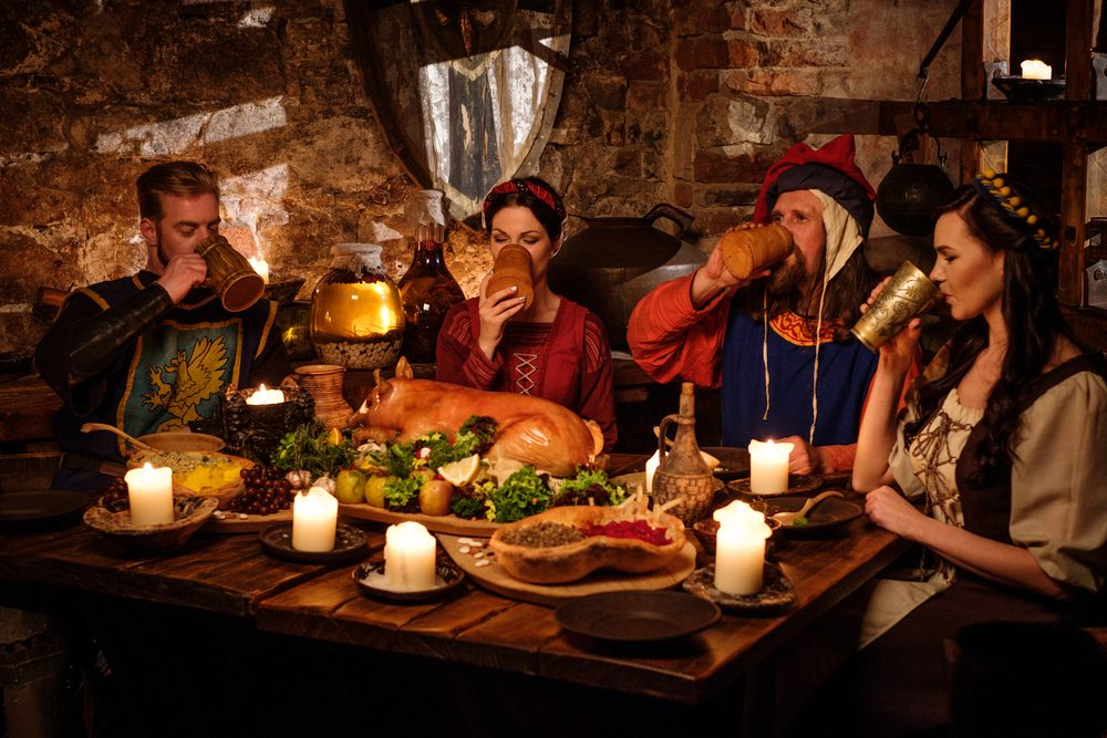 Stredoveké stravovanie