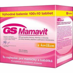 GS Mamavit s horčíkom 110 tabliet