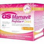GS Mamavit (recenzia) - vitamíny a minerály vhodné pri plánovaní tehotenstva, v tehotenstve a pri dojčení