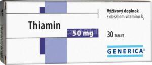 GENERICA Thiamin 50 mg tbl 1×30 ks