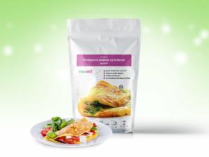 Proteínová omeleta KetoMIX 320 g (10 porcií) – syrová