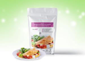 Proteínová omeleta KetoMIX 320 g (10 porcií) – zeleninová