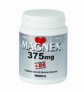 VITABALANS Magnex 375 mg + vitamín B6 180 tabliet