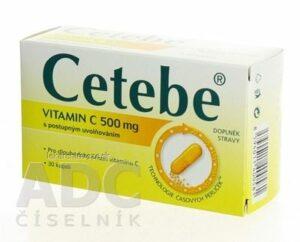 CETEBE (vitamín C 500 mg)