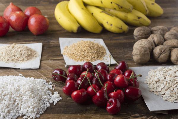 Melatonín v potravinách