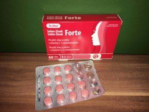 Selén Zinok Forte tablety