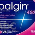 Ibalgin 400 (recenzia) - tlmí bolesť a horúčku a je vhodný aj pri menštruačných bolestiach
