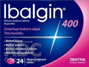 Ibalgin 400 24 tabliet