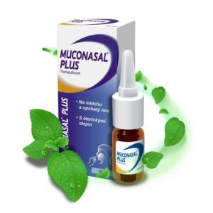 MUCONASAL PLUS sprej 10 ml