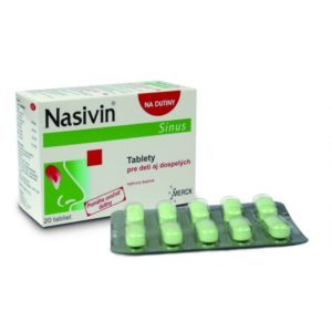 Nasivin Sinus 20 tabliet