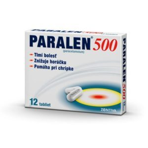 PARALEN 500 mg – 12 tabliet
