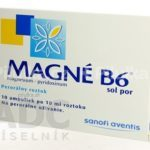 MAGNE-B6 sol por 10×10 ml