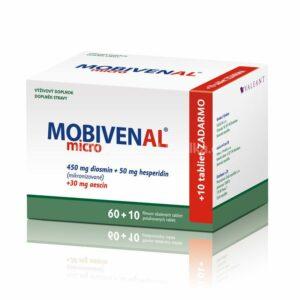 MOBIVENAL Micro 60+10 tabliet zadarmo