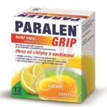 PARALEN GRIP horúci nápoj citrón 650 mg/10 mg  6 vrecúšok