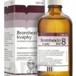 BROMHEXIN 8-KVAPKY KM sol por (liek.skl.hnedá) 1×100 ml