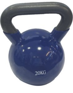 Kettlebell FIT PLUS vinyl 20 kg