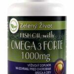 Fish oil with Omega-3 Forte 1000mg 30 kapsúl