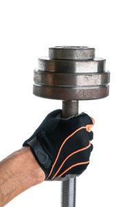 Fitness rukavice ochránia pokožku pred dráždením a odreninami