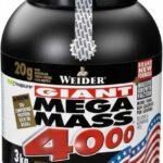 Weider Mega Mass 4000 (recenzia) - podpora rastu, svalovej hmoty a zvýšenie telesnej hmotnosti a sily