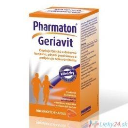 Pharmaton Geriavit 30 mäkkých kapsúl