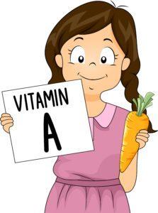 Betakarotén potrebný pre deti