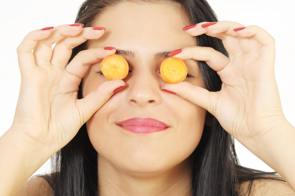 Betakarotén v mrkve a jeho vplyv na pokožku a oči