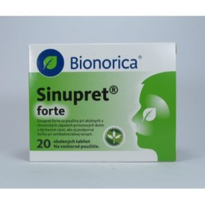 Sinupret forte 20 tabliet