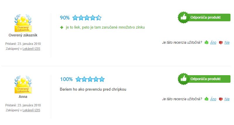Zinkorot hodnotenie