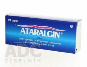 ATARALGIN tbl 325 mg/130 mg/70 mg 1×20 ks