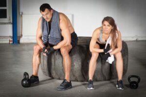 Fitness rukavice pre mužovi a ženy na cvičenie